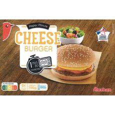AUCHAN Cheeseburger 6 pièces 780g