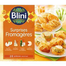 BLINI Blini Assortiment de mini feuilletés au fromage x20 250g 20 pièces 250g
