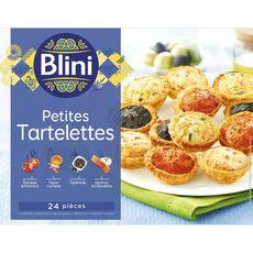 BLINI Blini Petites tartelettes 300g 24 pièces 300g