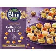 BLINI Blini Coffret tartes fines collection de fêtes 955g 100 pièces 100 pièces environ 955g