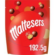 MALTESERS Billes chocolatées sablées et croquantes 192,5g
