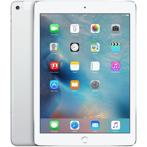 APPLE Tablette tactile iPad Air Reconditionné Premium 16 Go Wifi + Cellular Argent - Grade A