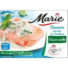 Marie saumon sauce à l'oseille 400g