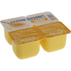 DISCOUNT Dessert lacté à la vanille 4x125g