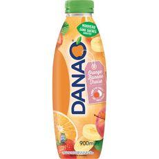 DANAO Danao Boisson au jus d'orange banane fraise et lait 90 cl 90cl