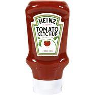 Heinz Heinz Tomato ketchup en squeeze top down 460g