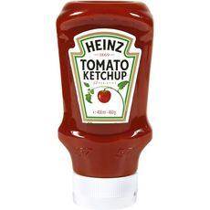 HEINZ Tomato ketchup en squeeze top down 460g