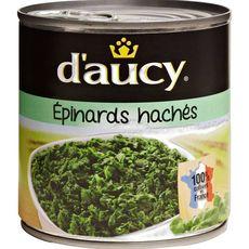 D'Aucy Épinards hachés 100% cultivés en France 395g