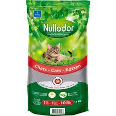 Nullodor Litière silice pour chat 33l