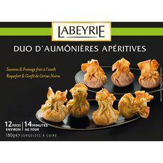 LABEYRIE Labeyrie Duo d'aumônières apéritives x12 180g 12 pièces 180g