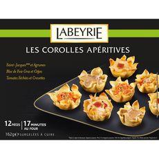 LABEYRIE Labeyrie Corolle apéritive x12 162g 12 pièces 162g