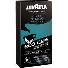 Lavazza Café lungo intense en capsule compatible Nespresso 53g