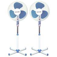 ELECTROTEK Lot de 2 ventilateurs - EF-F16SF