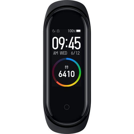 XIAOMI Bracelet connecté MiBand 4 Tracker d'activité Noir