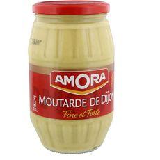 Amora Moutarde de Dijon fine et forte 915g