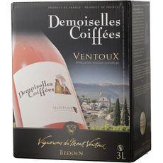 AOP Ventoux Demoiselles Coiffées rosé BIB 3l