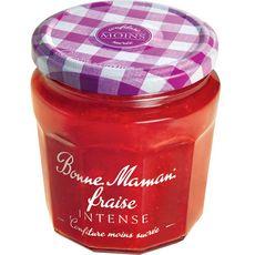 BONNE MAMAN Intense, confiture de fraises 335g