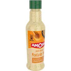 AMORA Sauce salade moutarde et miel 210ml