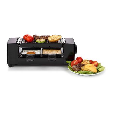 QILIVE Raclette 2 personnes - Q.5795 - Noir