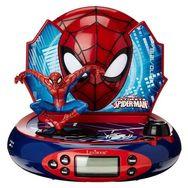 LEXIBOOK Radio Réveil Projecteur Spider-Man RP500SP Bleu Rouge