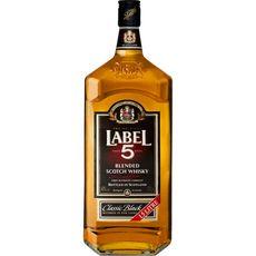 Label 5 Scotch whisky classic black 40% 1,5l