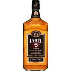 Label 5 Scotch whisky classic black 40% 70cl