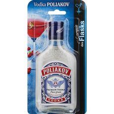 Poliakov Vodka pure grain 37,5% flask 20cl