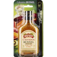 Busnel Calvados vieilli en fût de chêne flask 40° -20cl