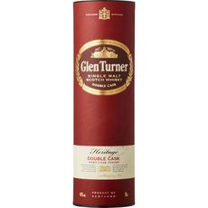 Glen turner Scotch whisky single malt heritage double cask 40% 70cl