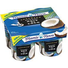 MAMIE NOVA Mamie Nova Gourmand yaourt à la noix de coco 4x150g 4x150g