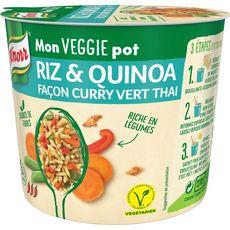 Knorr plat cuisiné riz quinoa curry vert thaï 69g