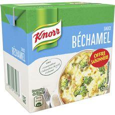 Knorr sauce béchamel nature brique 50cl offre saisonnière