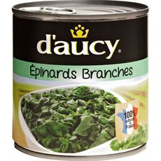 Daucy épinards en branches 265g