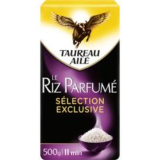 TAUREAU AILE Riz parfumé sélection exclusive prêt en 11 min 500g