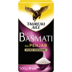 TAUREAU AILE Riz basmati du Penjab pure origine 500g