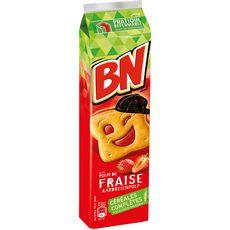 BN Biscuits fourrés à la pulpe de fraise 295g