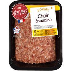 VERITABLE Chair à saucisse pur porc 250g