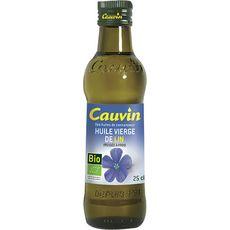 Cauvin bio huile de lin 25cl