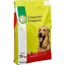 POUCE Croquettes au boeuf pour chien 10kg