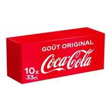 Coca-Cola frigo pack canette 10x33cl
