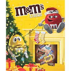 M&M'S M&M's & Friends Calendrier de l'Avent 361g 361g