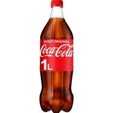 Coca cola Boisson gazeuse aux extraits végétaux goût original 1l