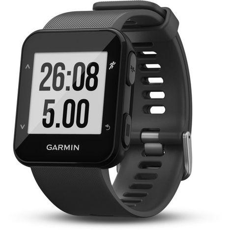 GARMIN Montre Sport GPS Tracker d'activité Forerunner 30 Grise