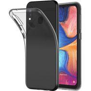 QILIVE Coque de protection en TPU pour Samsung A20E Transparent