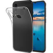 QILIVE Coque de protection en TPU pour Samsung A40 Transparent