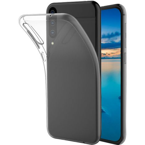 QILIVE Coque de protection en TPU pour Samsung A50 Transparent
