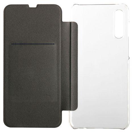QILIVE Etui folio à rabat pour Samsung A50 Noir