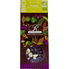 Roucadil raisin chocolat noir bio 120g