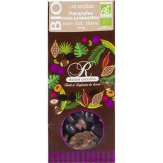 Roucadil mélange amandes noix chocolat bio 100g