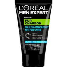 L'Oréal Men Expert Gel ultra-désincrustant anti-points noirs charbon 100ml